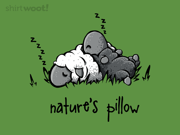 Nature's Pillow T Shirt