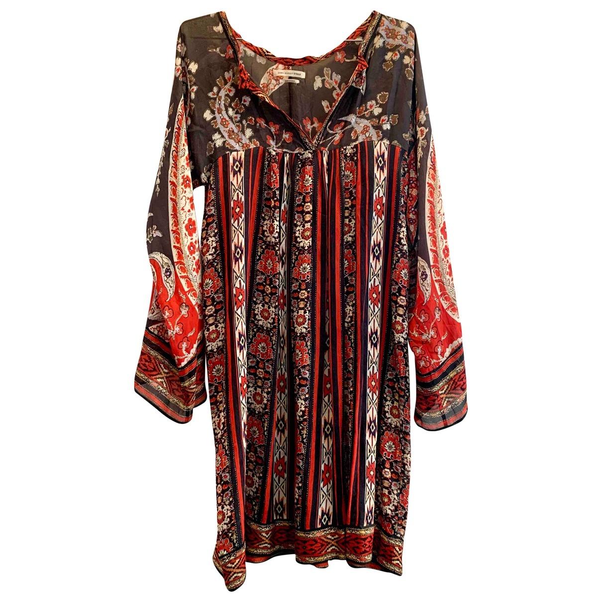 Isabel Marant Etoile \N Kleid in  Rot Viskose