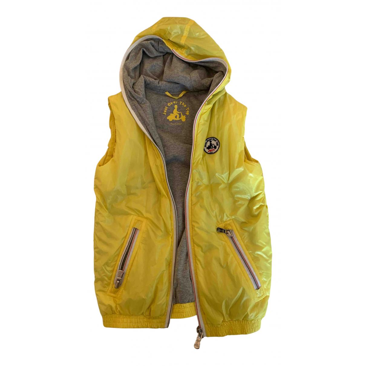 Jott \N Jacke, Maentel in  Gelb Polyester