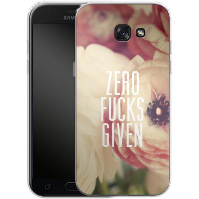 Samsung Galaxy A5 (2017) Silikon Handyhuelle - Zero Fcs Given von Statements