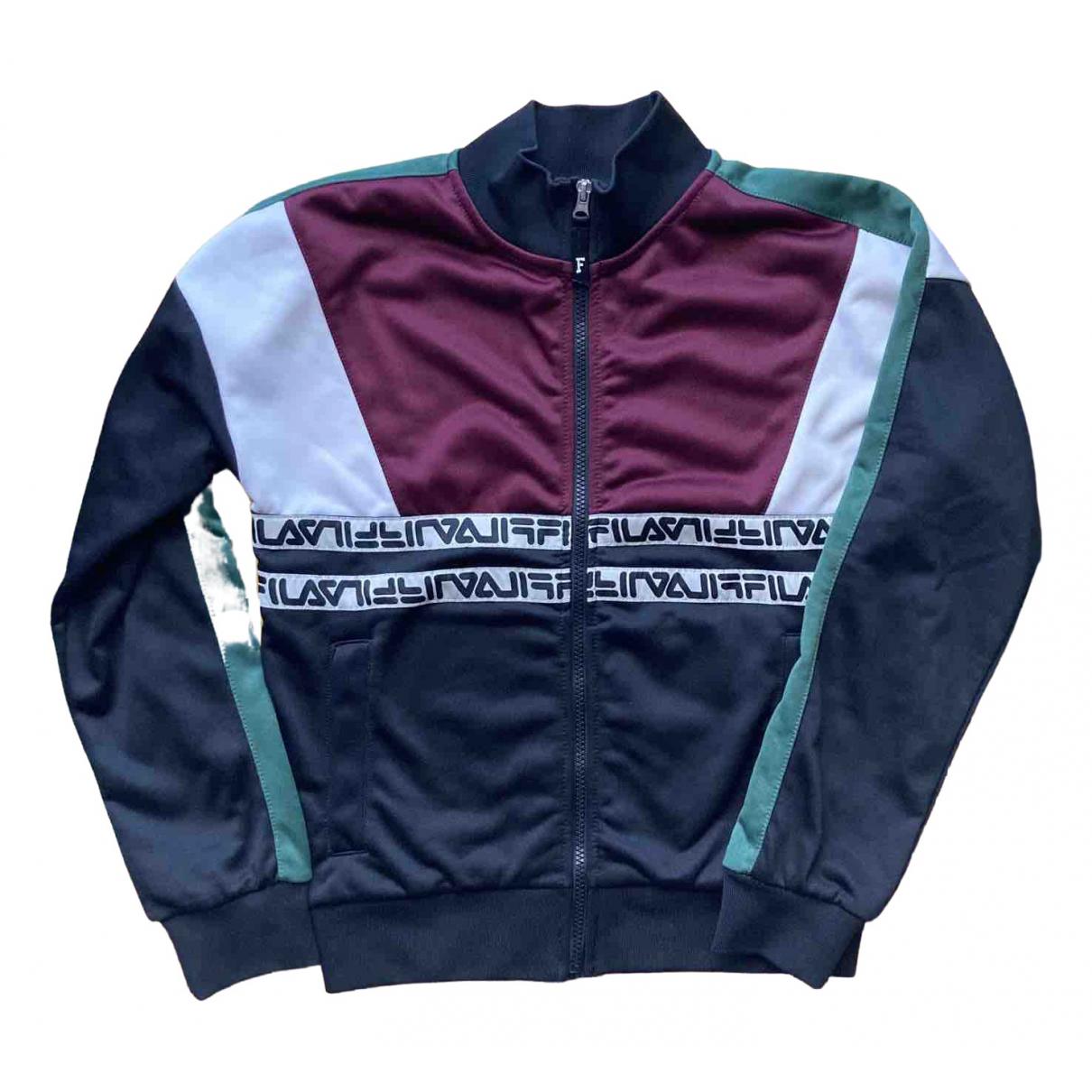 Fila \N Pullover in  Schwarz Polyester
