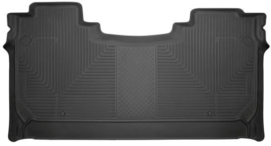 Husky Liners 14731 Husky Weatherbeater Floor Liner 2019 Ram 1500 2nd Seat Black
