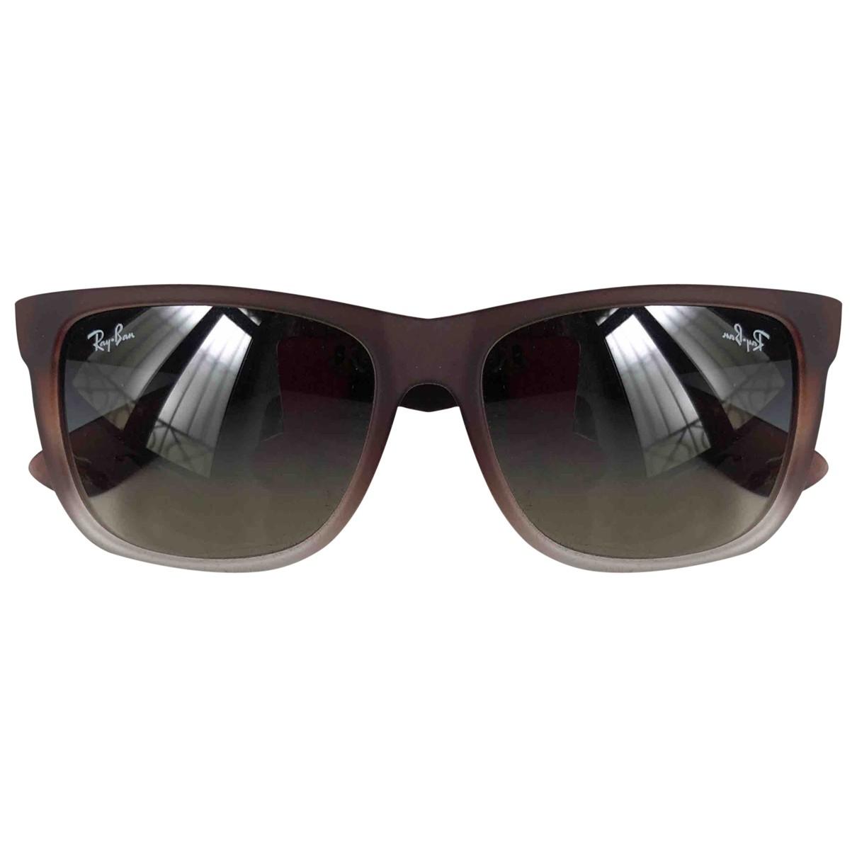 Ray-ban New Wayfarer Brown Sunglasses for Women \N