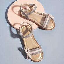 Kleinkind Maedchen Sandalen mit Schleife Dekor