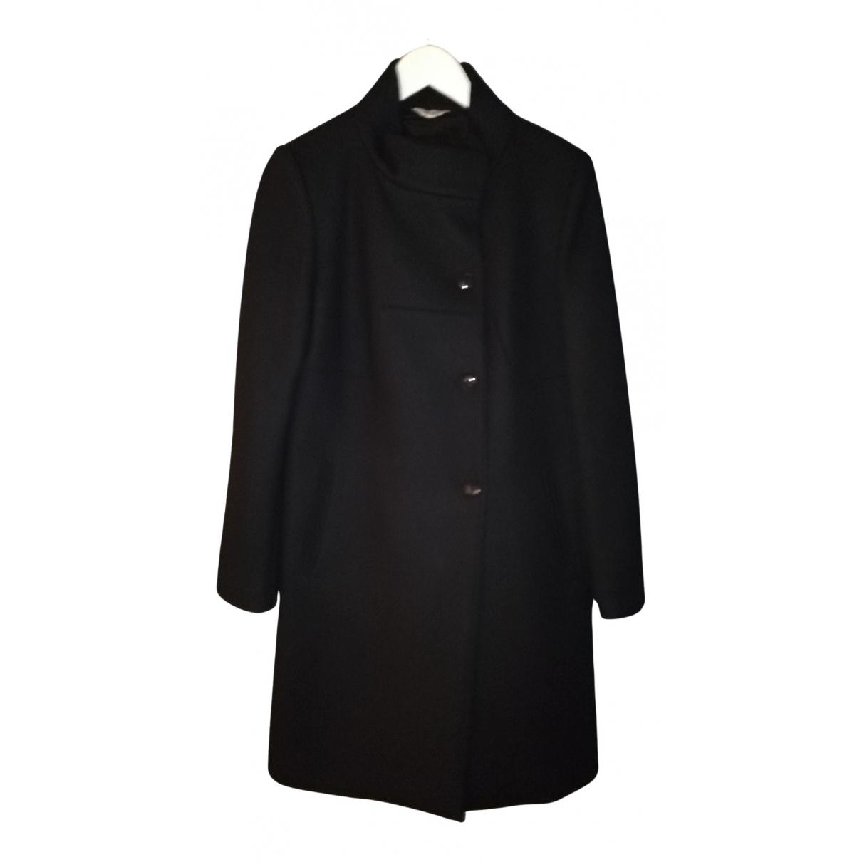 Liu.jo N Black Wool coat for Women 46 IT