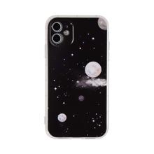 Moon & Star Print iPhone Case