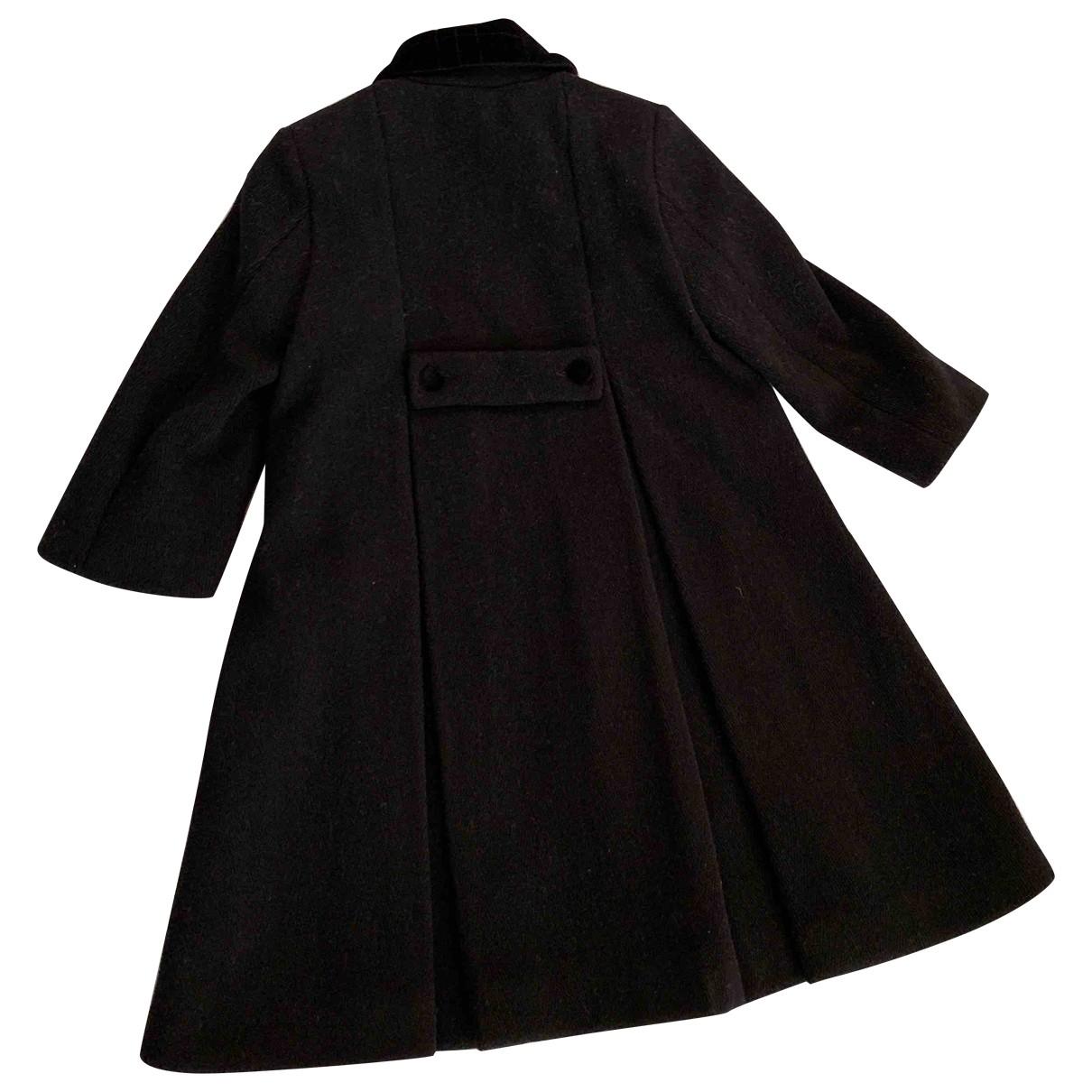 Burberry - Blousons.Manteaux   pour enfant en laine - bleu