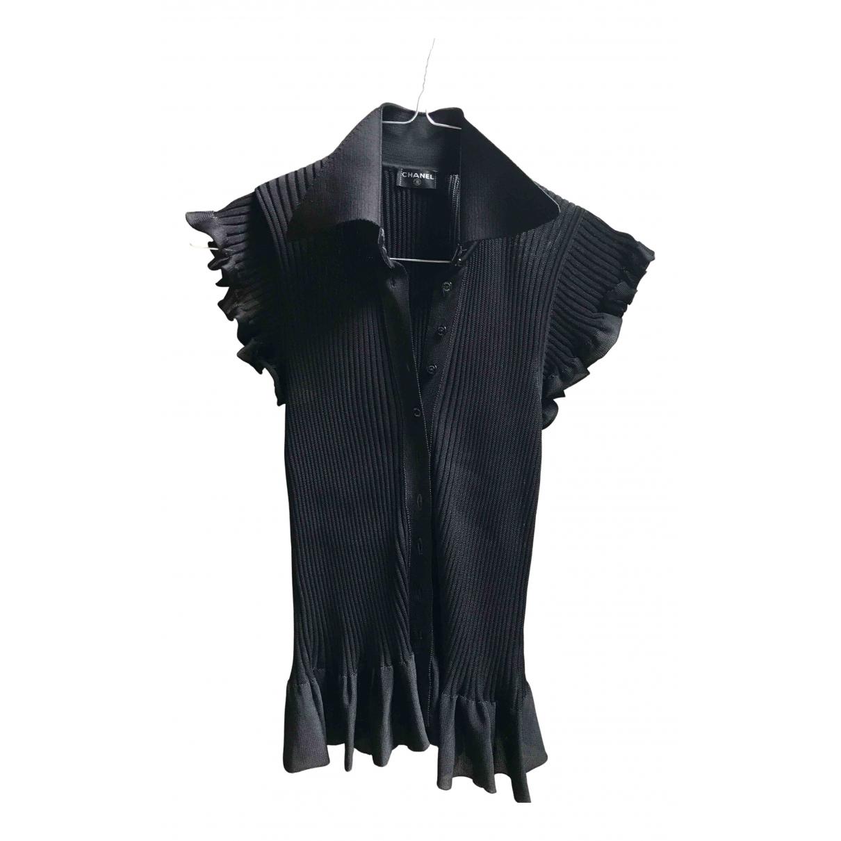 Chanel - Top   pour femme - noir