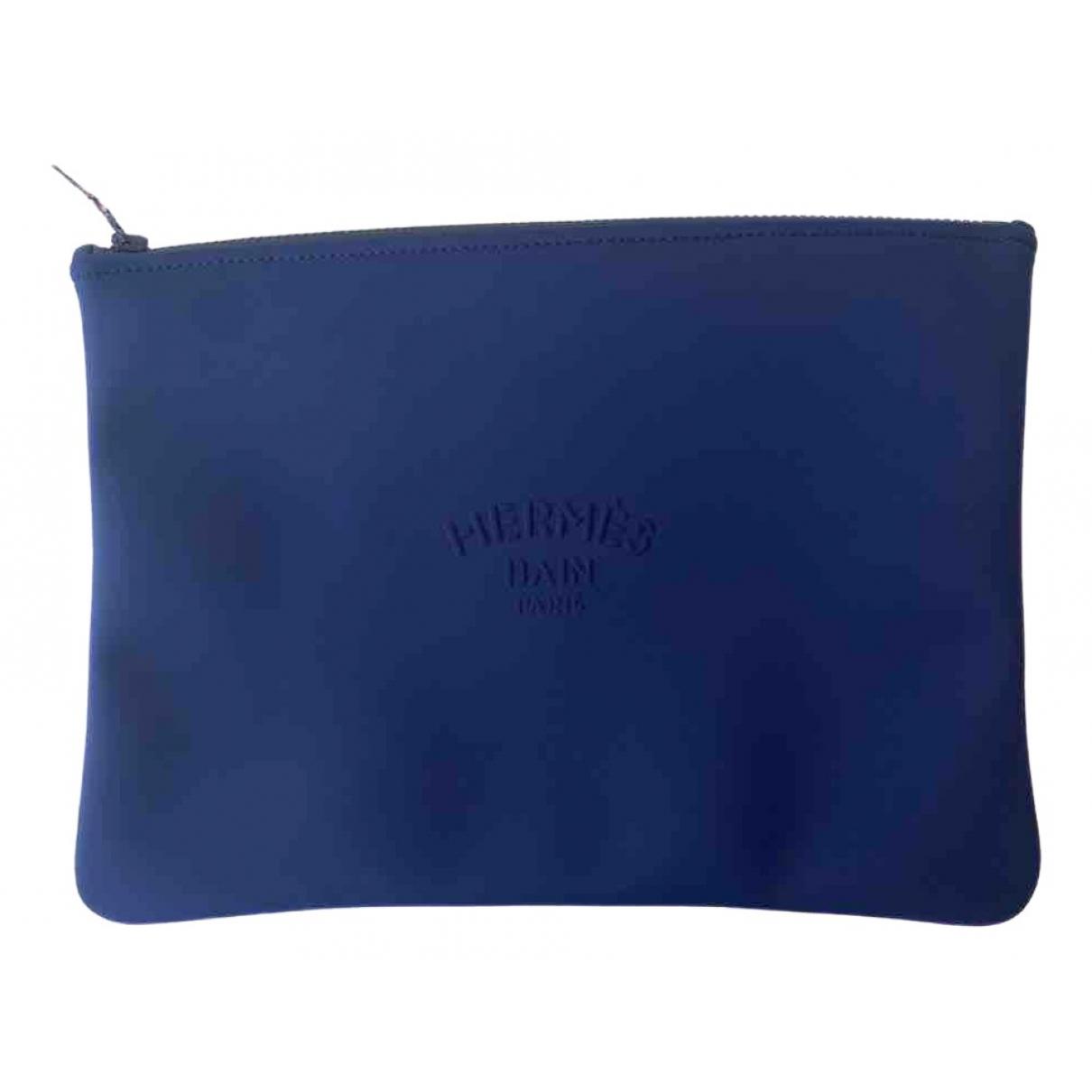 Hermes - Pochette   pour femme - bleu