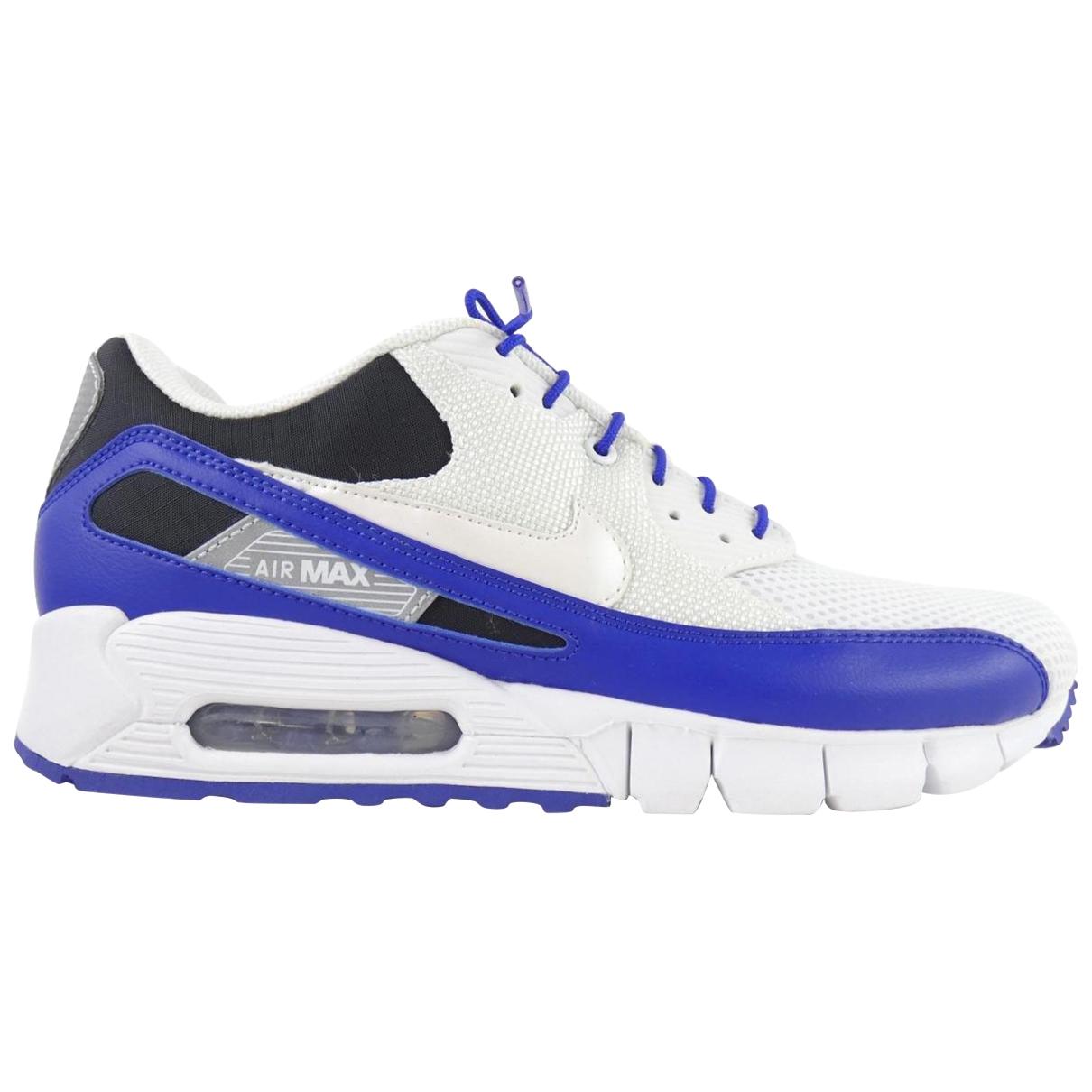 Nike - Baskets Air Max 90 pour homme en toile - blanc