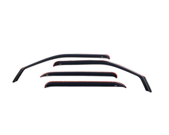 Westin Automotive 72-69499 Wind Deflectors - Slim Design Smoke Nissan Xterra 00-04