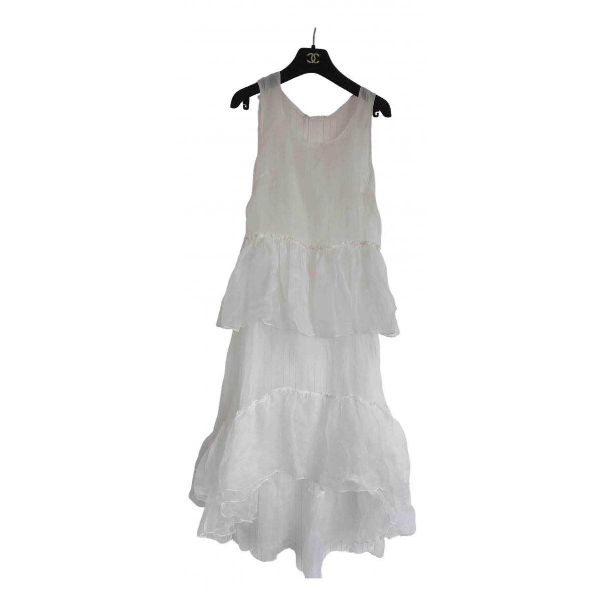 Parosh \N Kleid in  Weiss Polyester