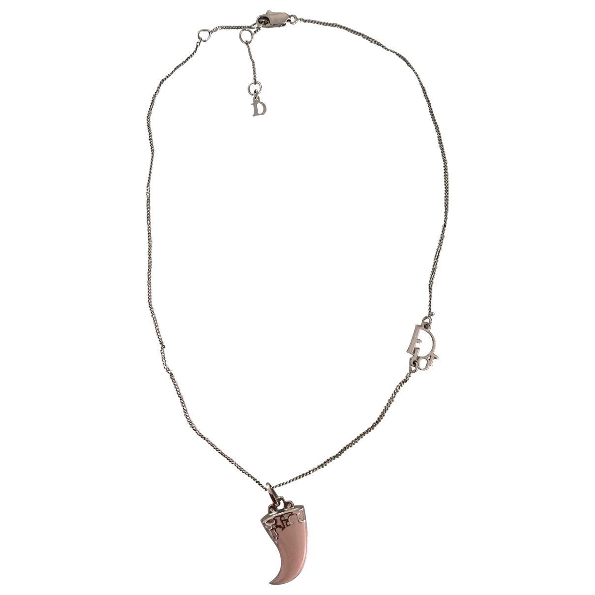 Dior \N Pink Metal necklace for Women \N