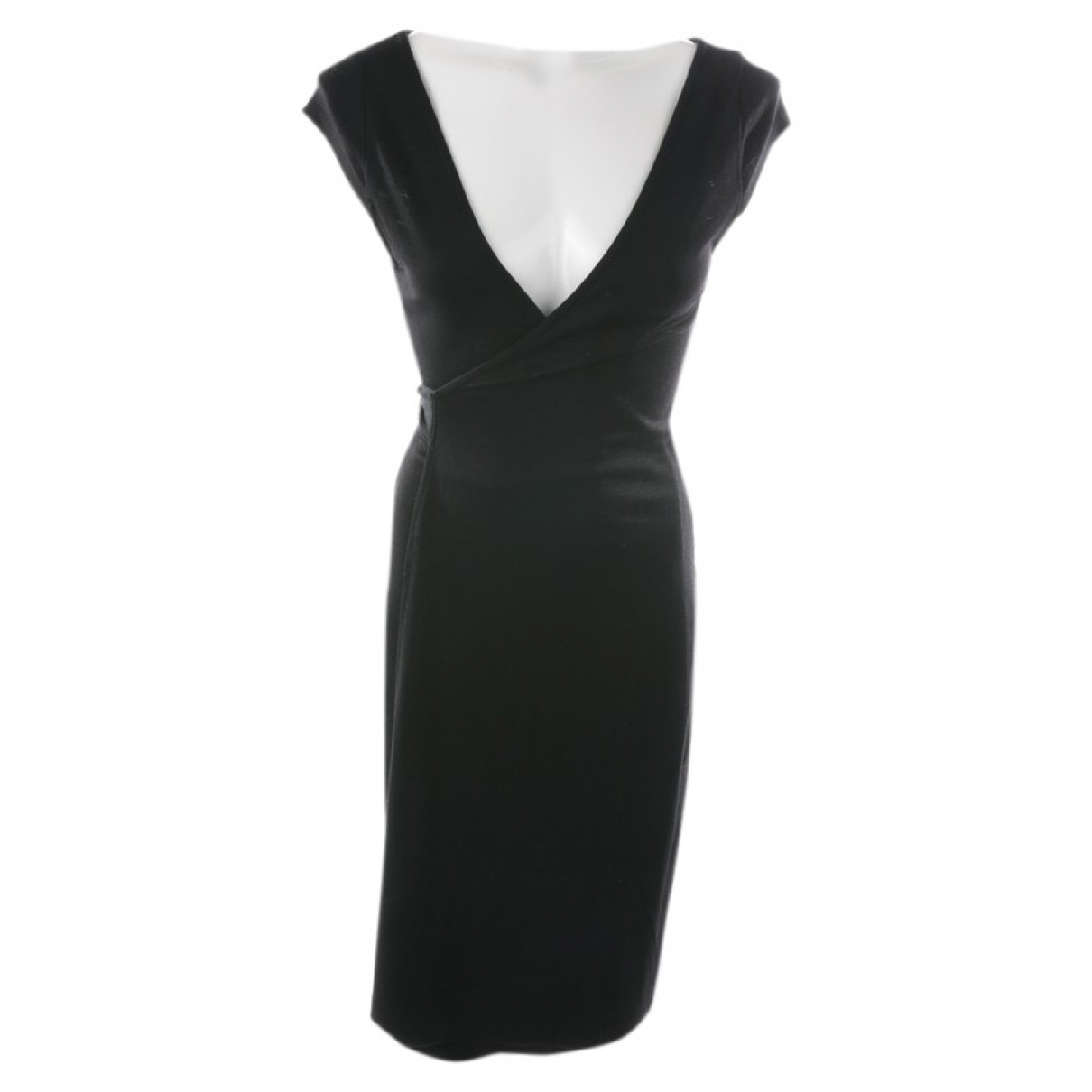 Diane Von Furstenberg N Black Wool dress for Women 38 FR