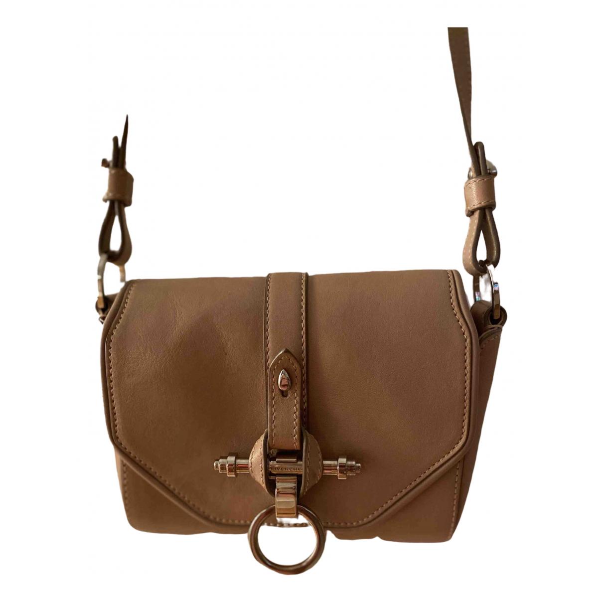 Givenchy - Sac a main Obsedia pour femme en cuir - beige