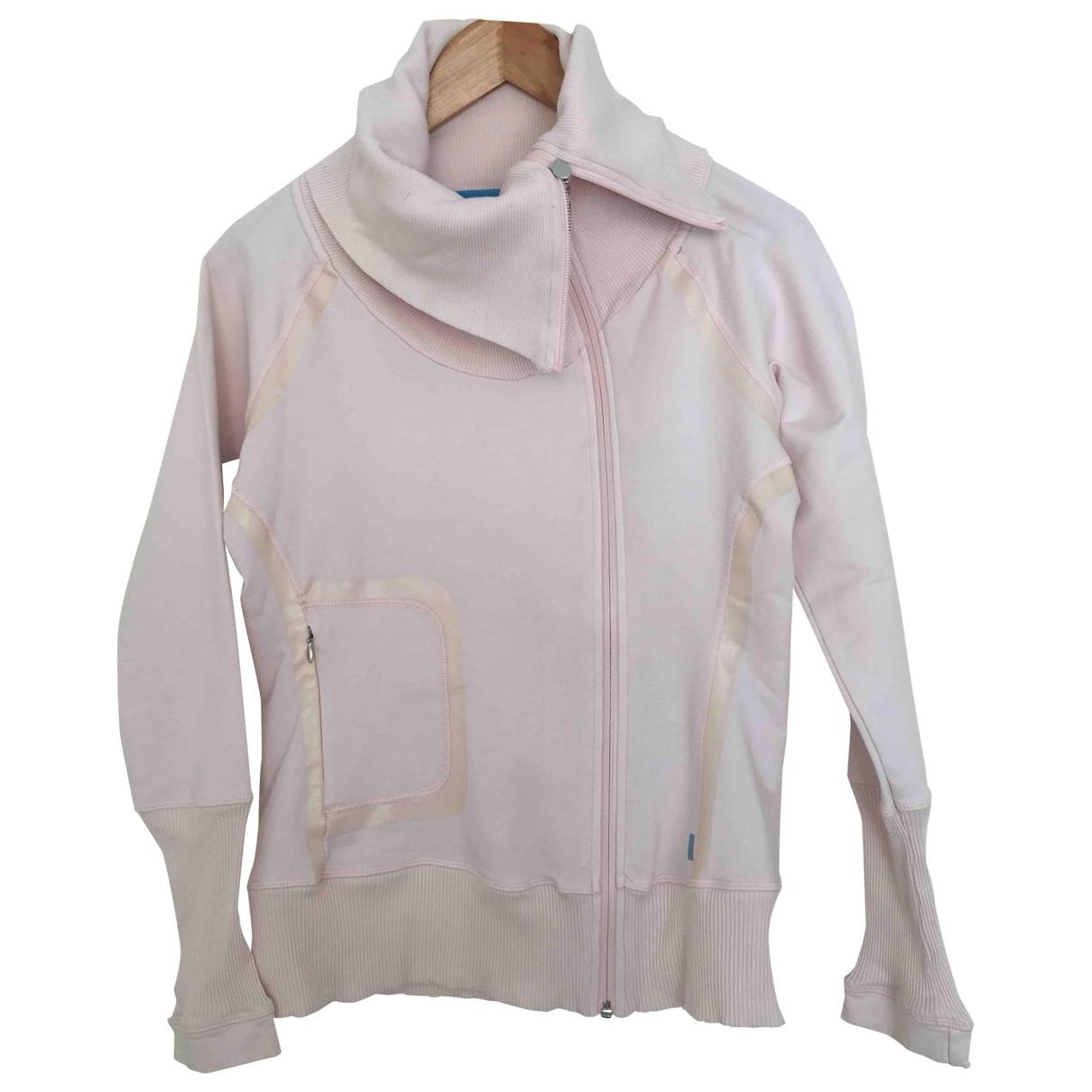 Reebok - Veste   pour femme en coton - rose