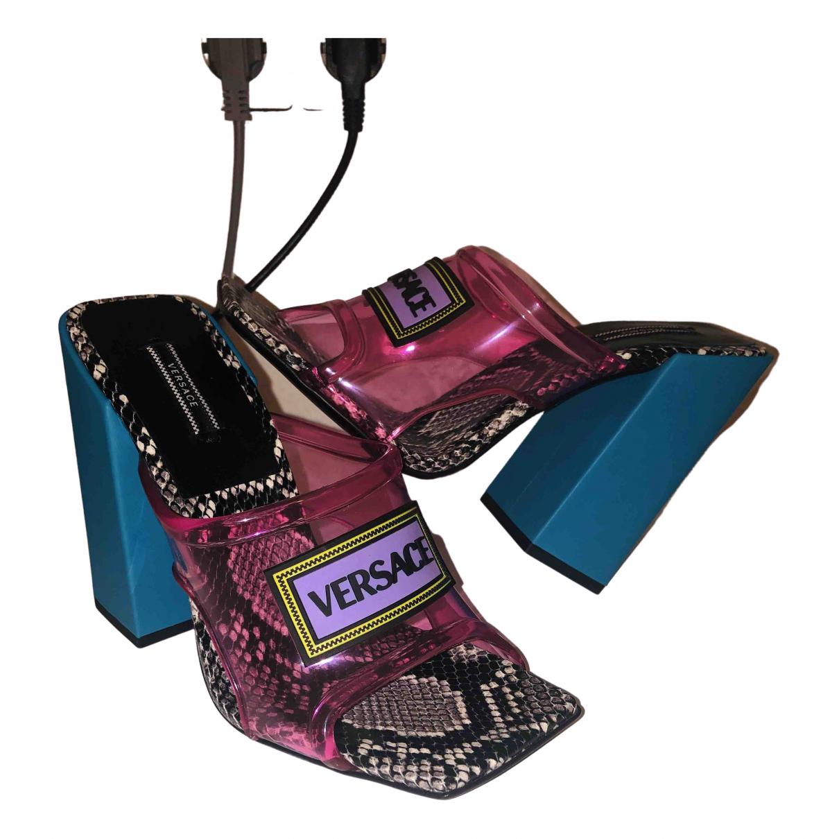 Versace \N Multicolour Sandals for Women 39 EU
