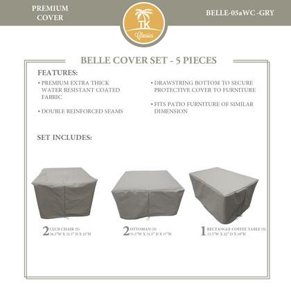BELLE-05aWC-GRY Protective Cover Set  for BELLE-05a in