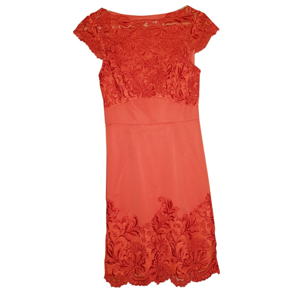 Karen Millen \N Kleid in  Rot Polyester