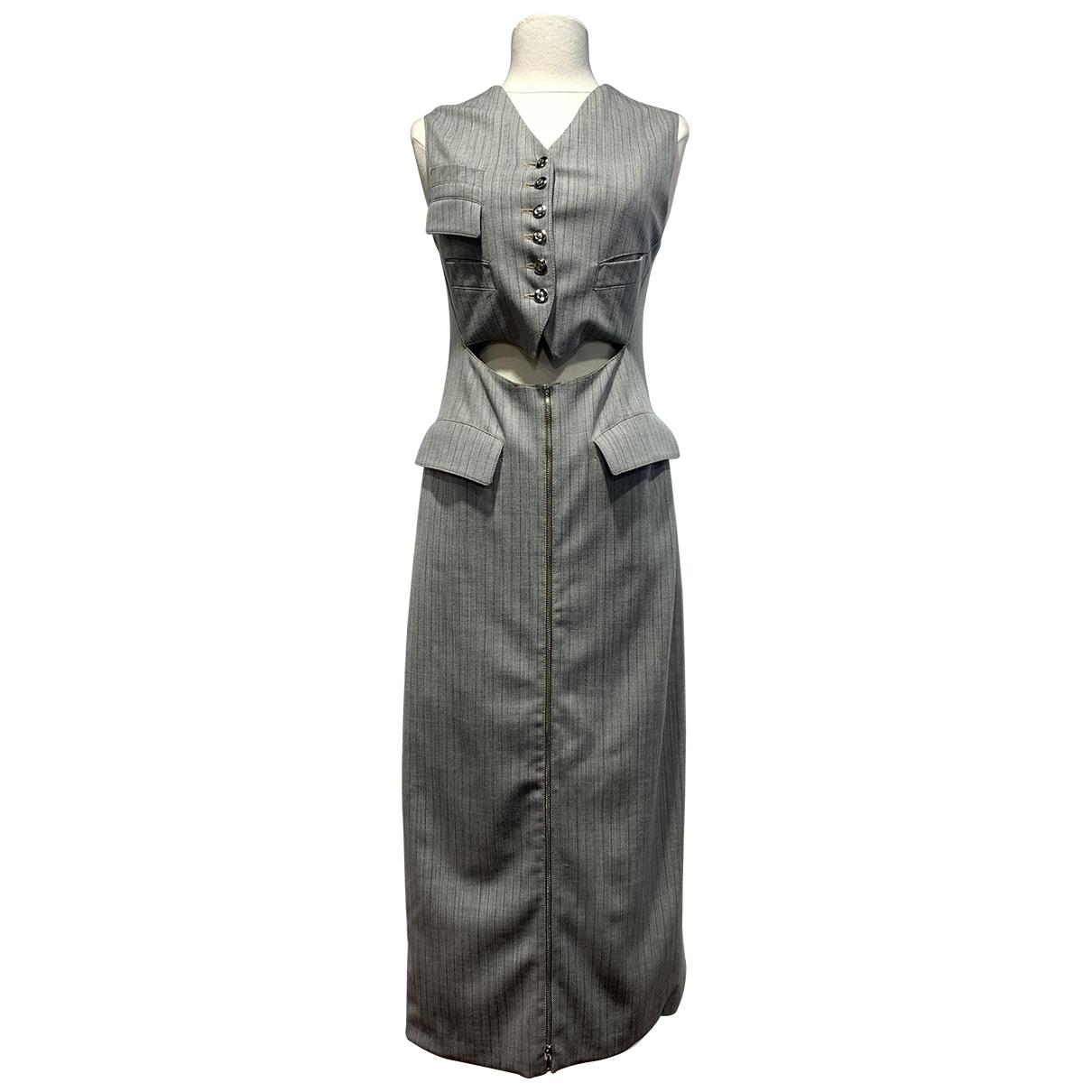 Vestido de Lana Jean Paul Gaultier