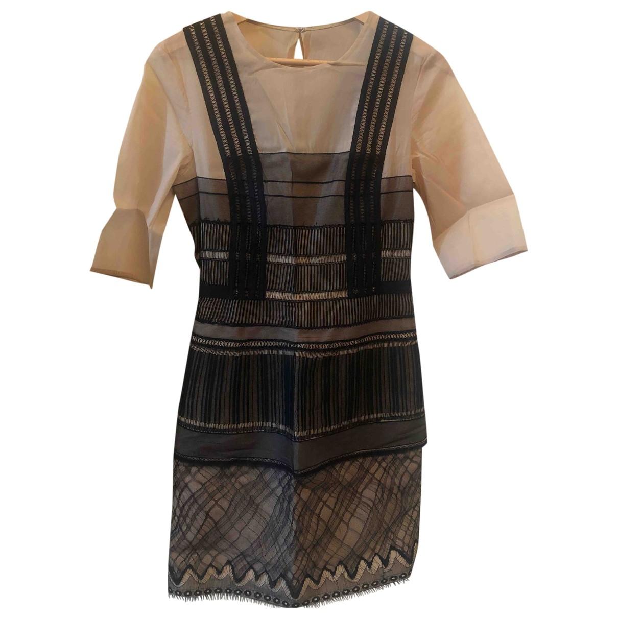 3.1 Phillip Lim - Robe   pour femme en soie - multicolore