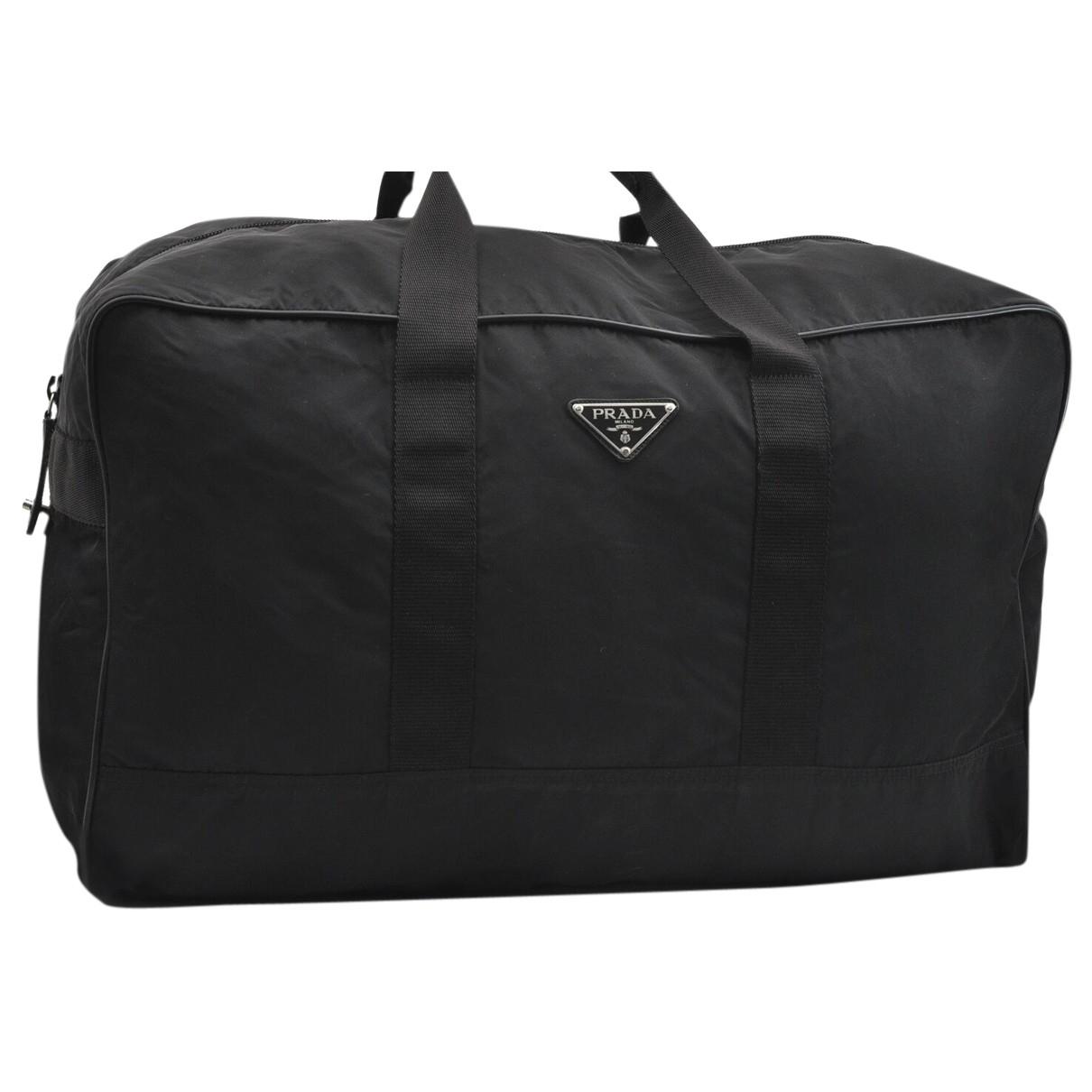 Prada N Black Travel bag for Women N