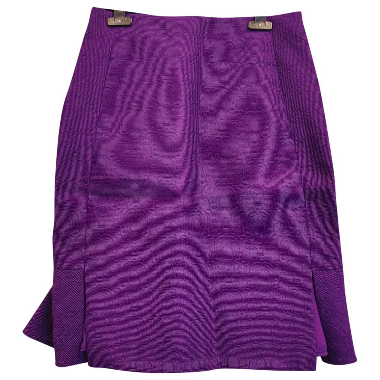 Yves Saint Laurent - Jupe   pour femme - violet