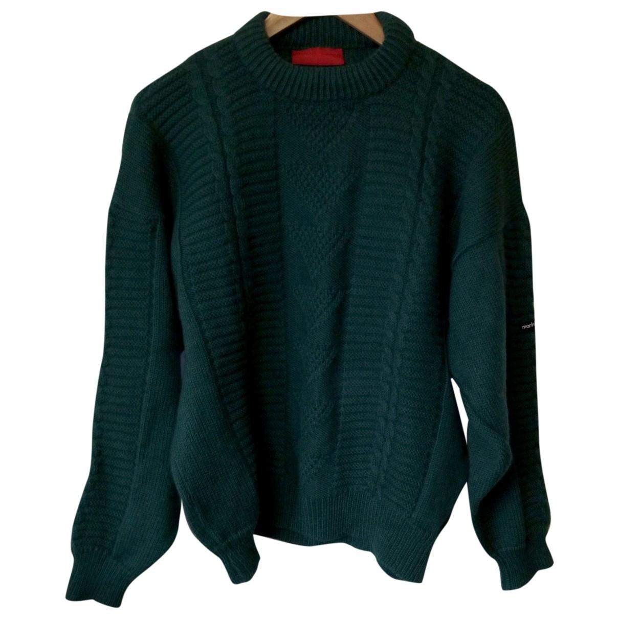 Marina Yachting \N Pullover.Westen.Sweatshirts  in  Gruen Wolle