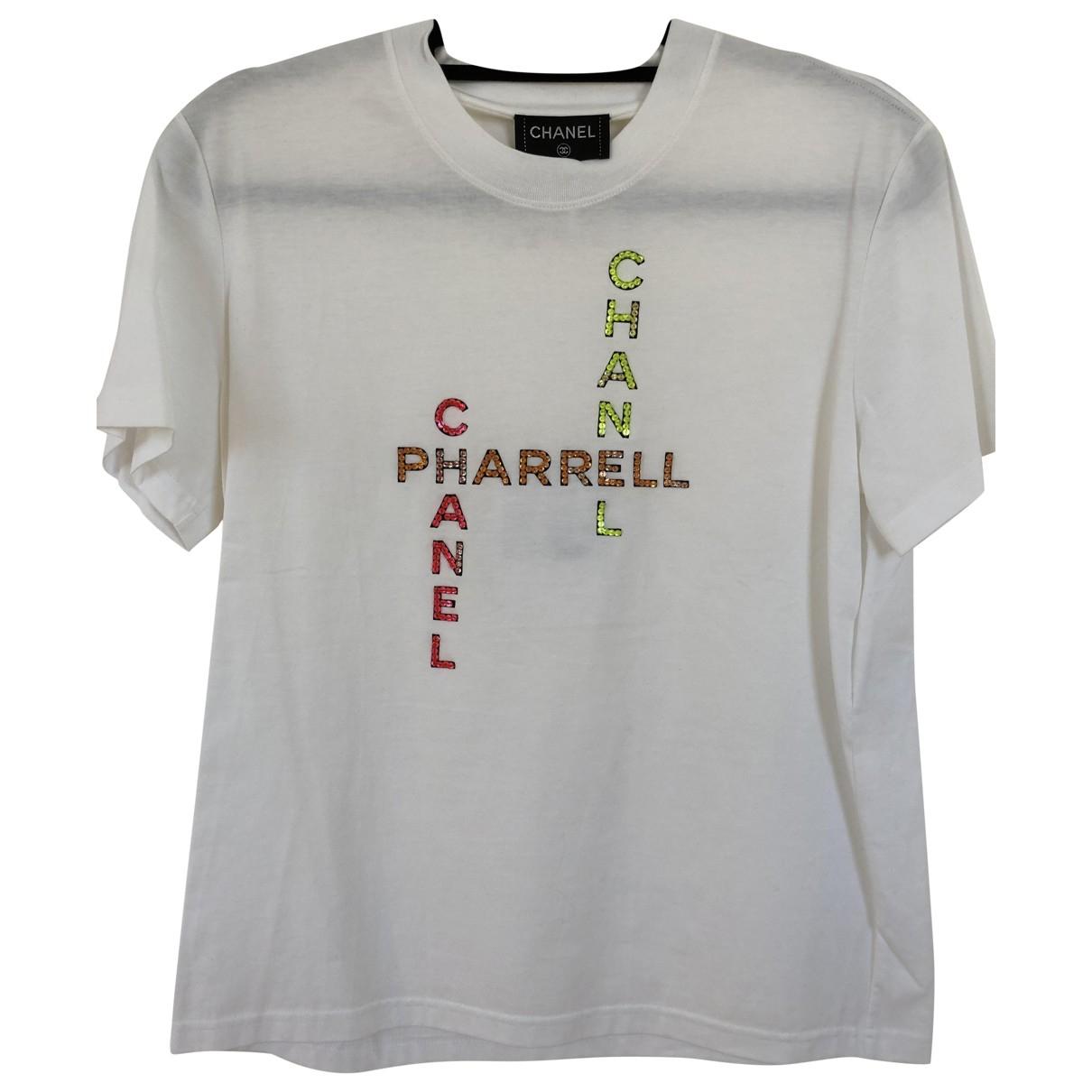 Chanel X Pharrell Williams \N White Cotton T-shirts for Men S International