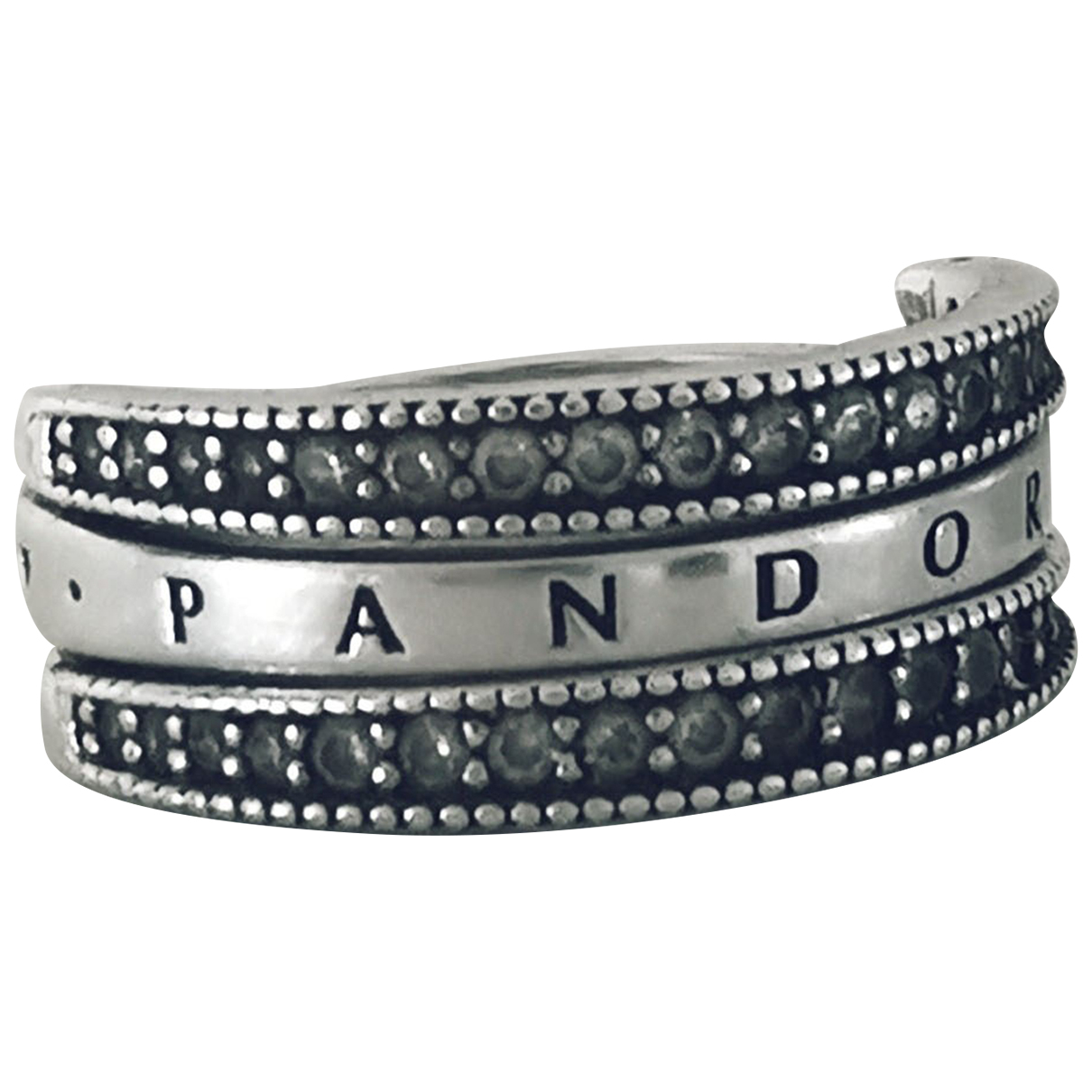 Pandora N Silver Silver ring for Women 50 MM