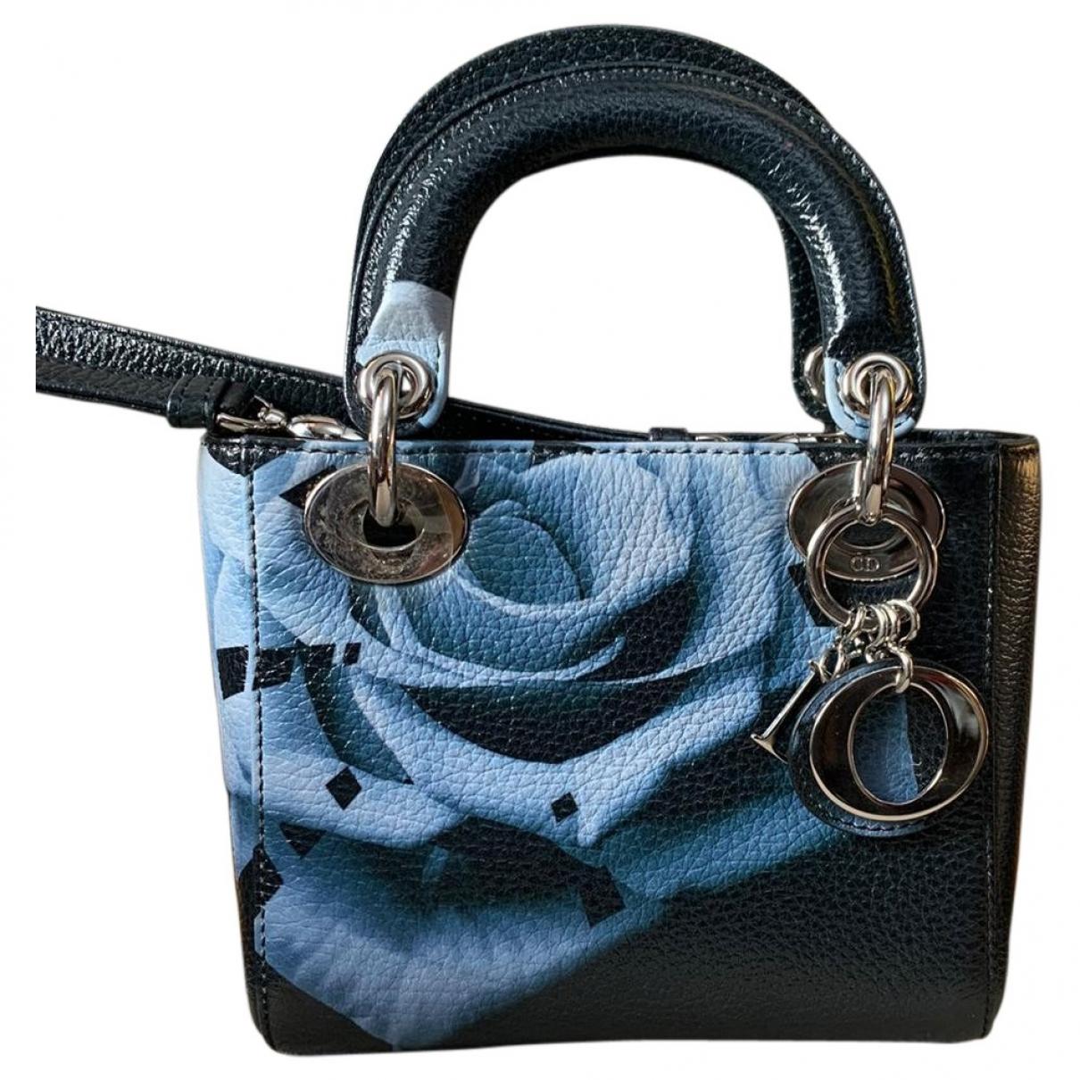 Dior - Sac a main My Lady Dior pour femme en cuir - noir