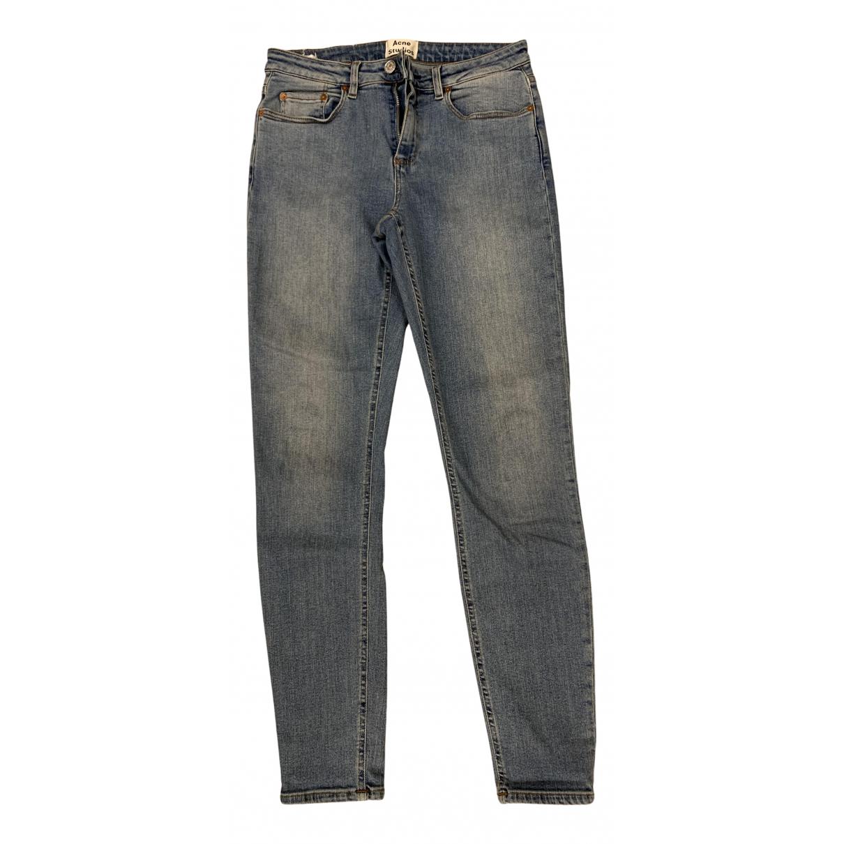 Acne Studios Skin 5 Blue Denim - Jeans Jeans for Women 28 US