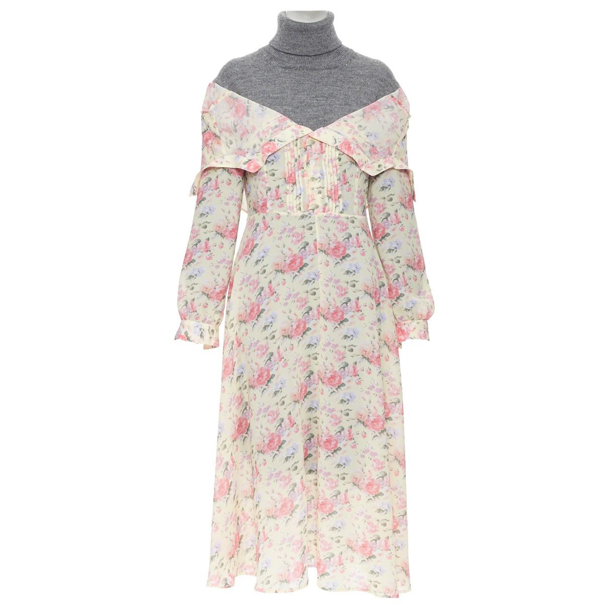 Junya Watanabe \N Kleid in  Bunt Wolle