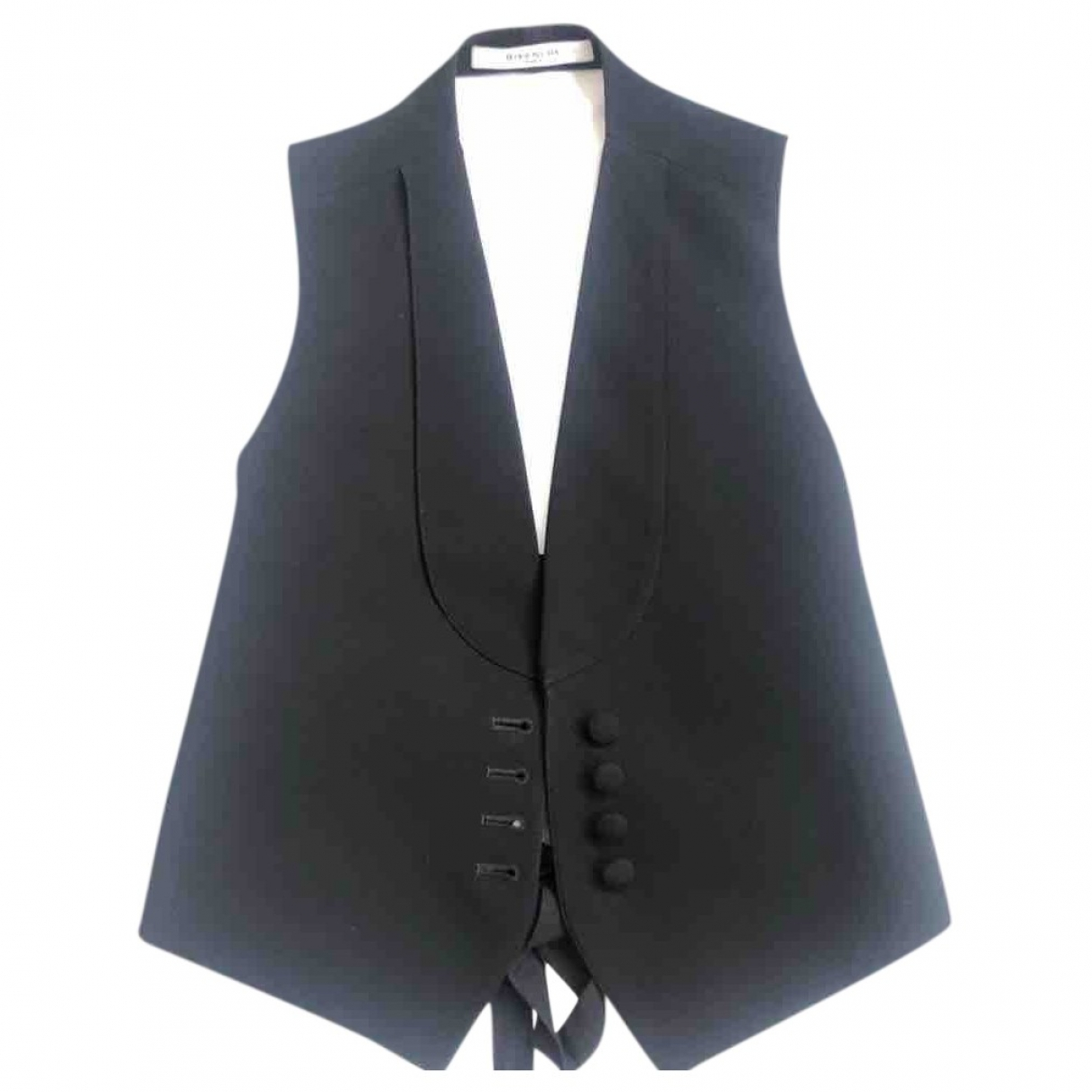 Givenchy \N Jacke in  Schwarz Viskose