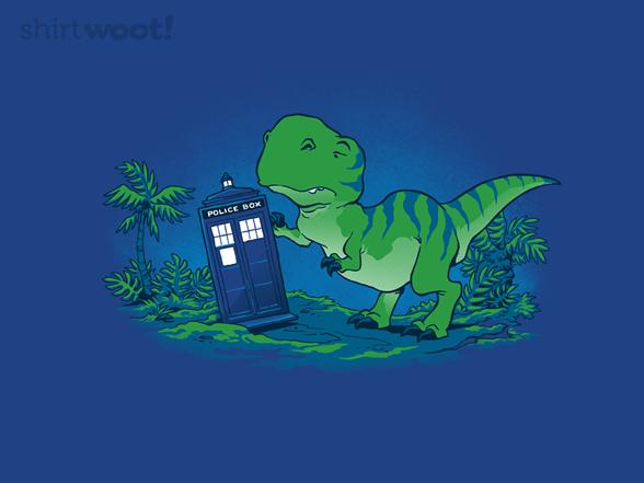 Jurassic Parked T Shirt