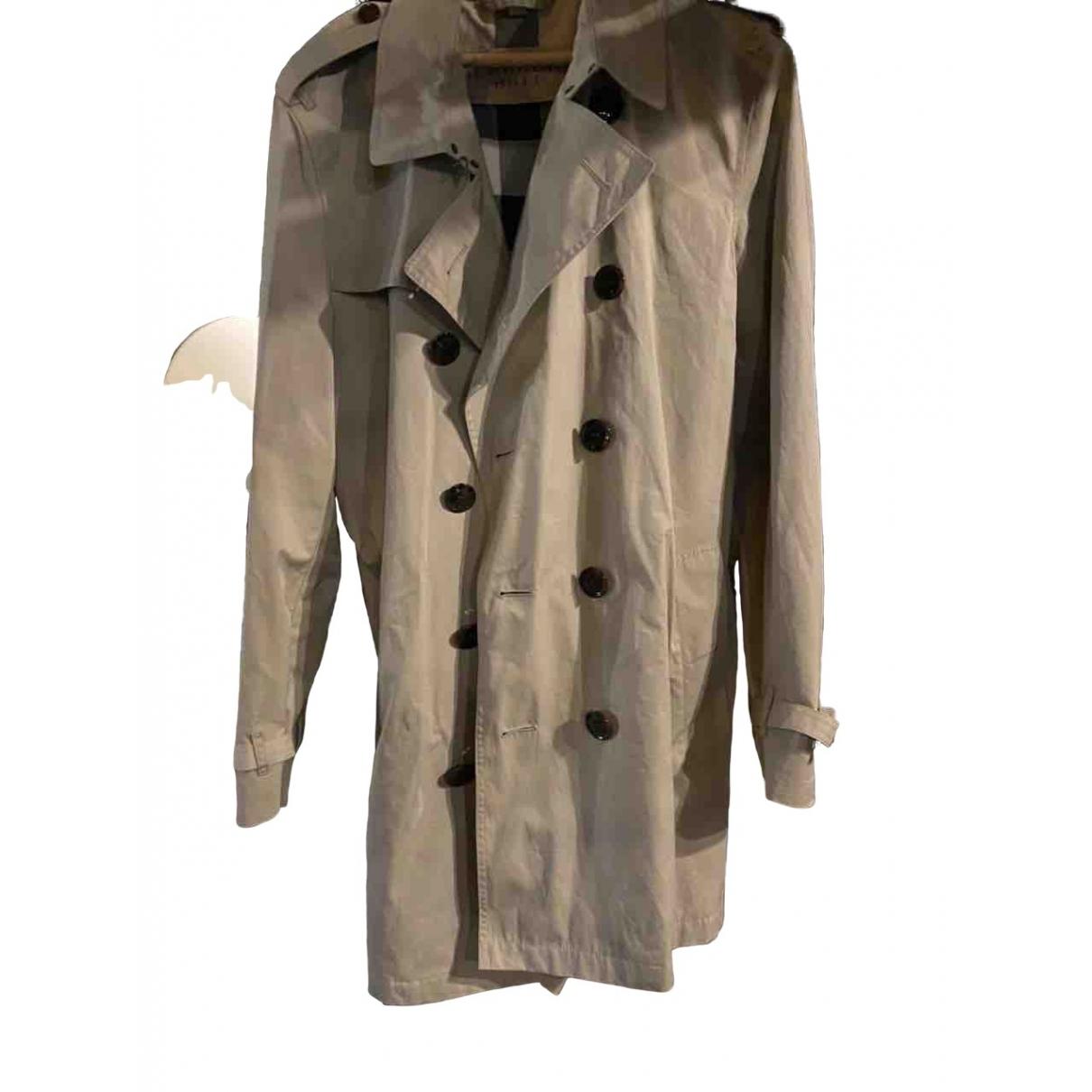 Burberry - Manteau   pour homme - beige