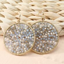Ohrringe mit Kristall Dekor