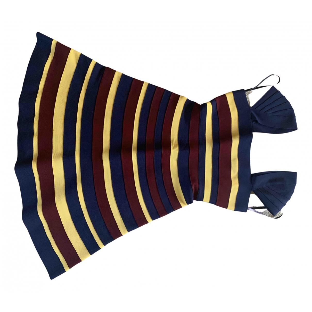 Herve Leger \N Kleid in  Bunt Synthetik