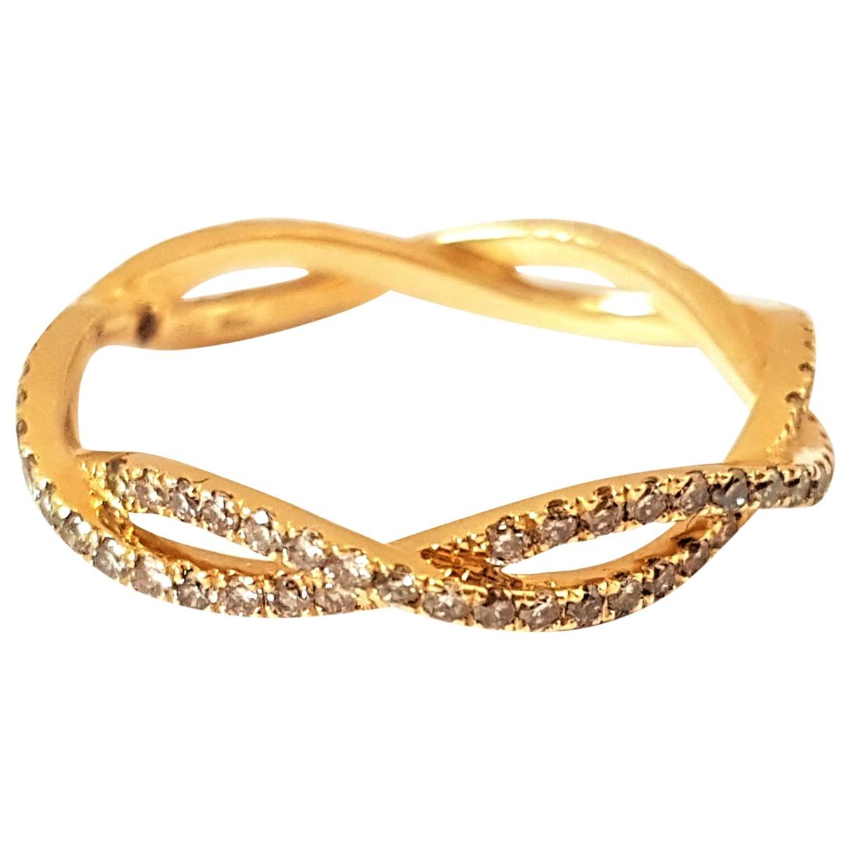 Etername - Bague   pour femme en or jaune - dore
