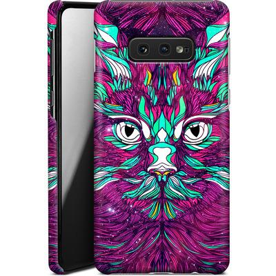 Samsung Galaxy S10e Smartphone Huelle - Space Cat von Danny Ivan