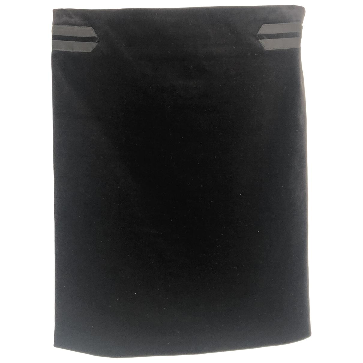 Falda midi de Terciopelo Gucci