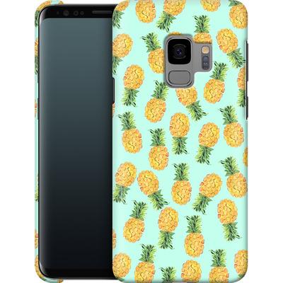 Samsung Galaxy S9 Smartphone Huelle - Pineapple von Amy Sia