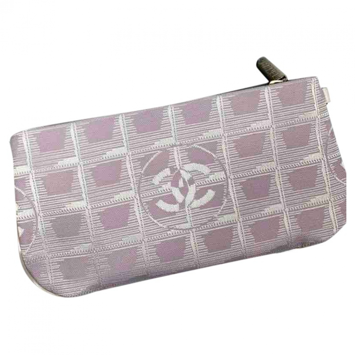 Chanel \N Pink Cloth Purses, wallet & cases for Women \N