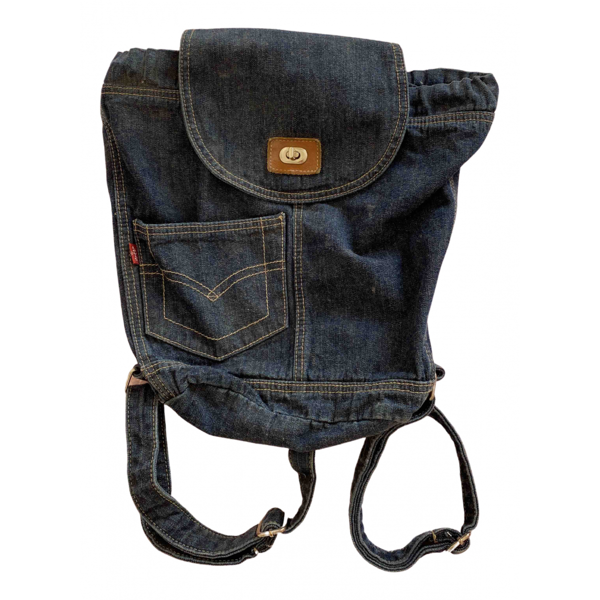 Levi's \N Blue Cotton backpack for Women \N