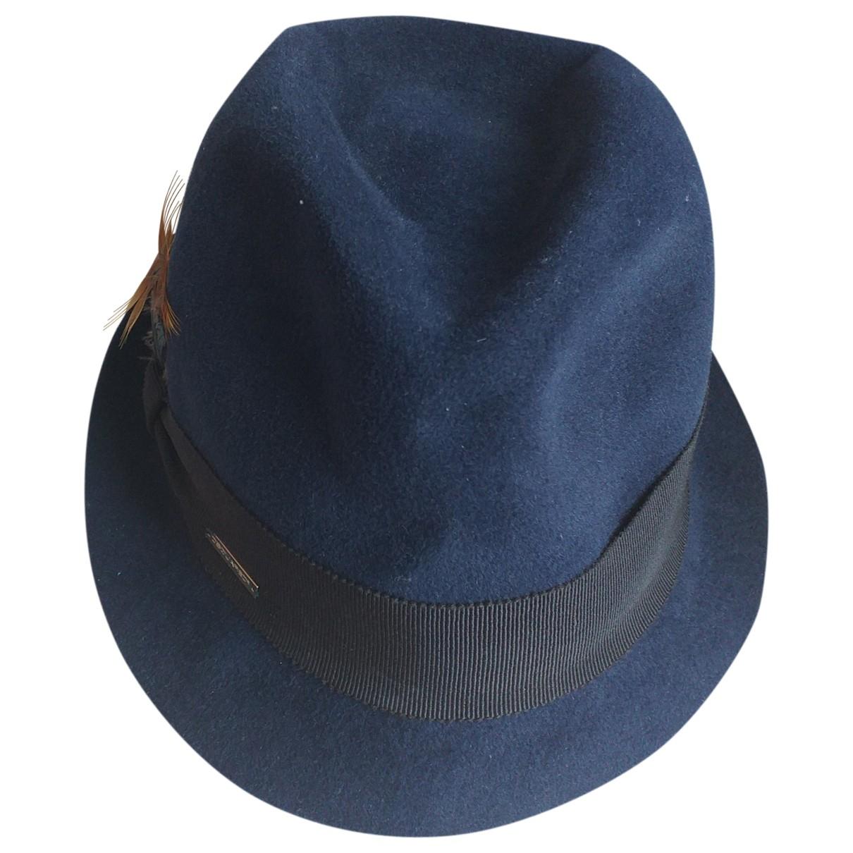Dsquared2 \N Hut, Muetzen in  Blau Baumwolle