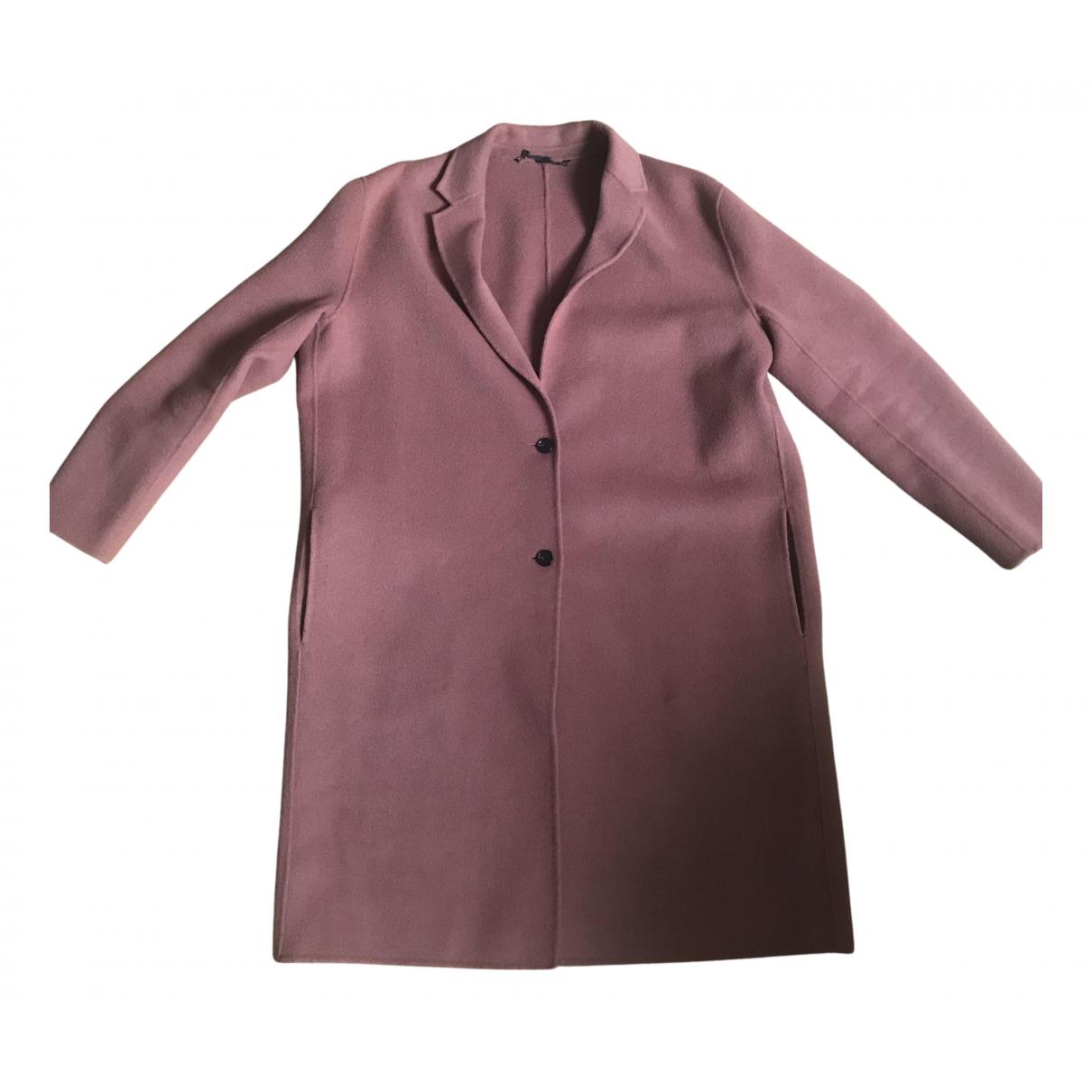All Saints - Manteau   pour femme en laine - rose