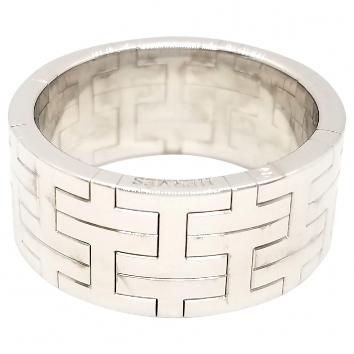 Hermes \N Ring in  Silber Weissgold