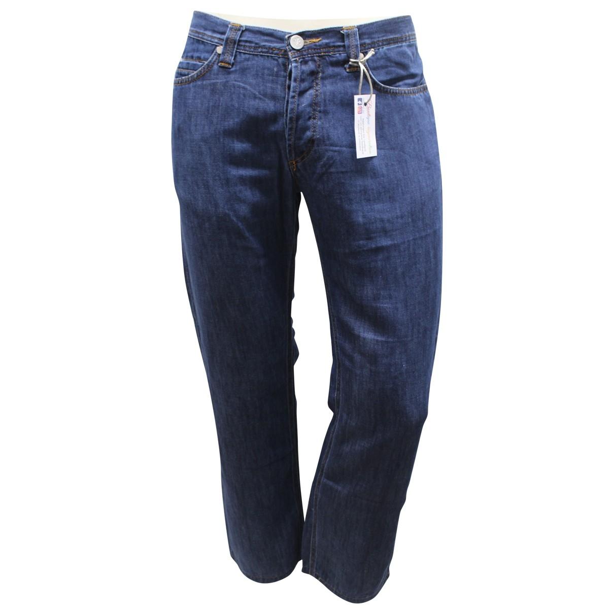 Versace Jeans \N Blue Jeans for Men 36 US