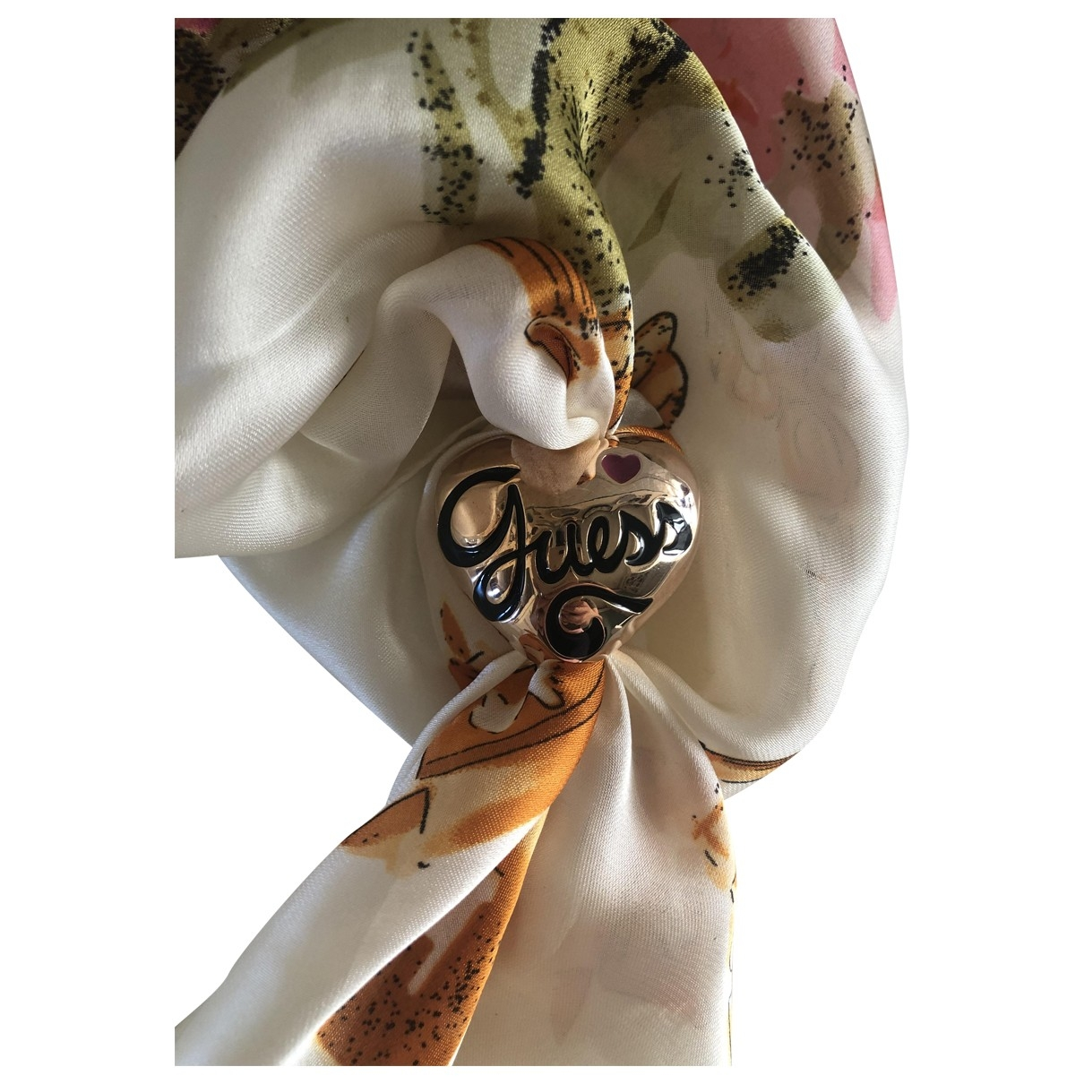 Guess \N Gold scarf for Women \N