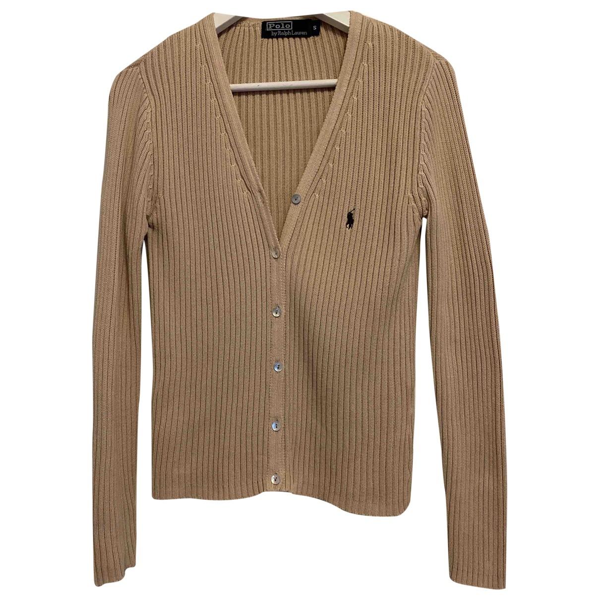 Polo Ralph Lauren - Pull   pour femme en coton - beige